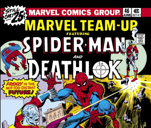 Marvel Team-Up (1972) #46 Cover