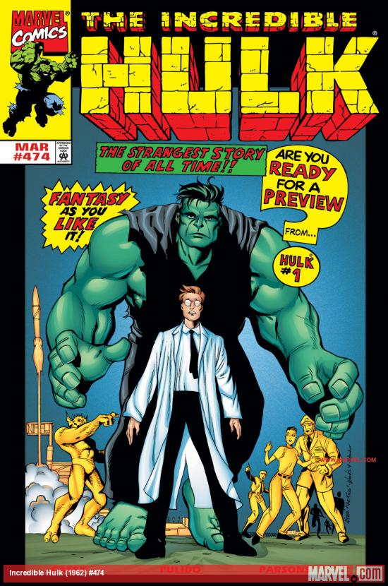 Incredible Hulk (1962) #474 Cover