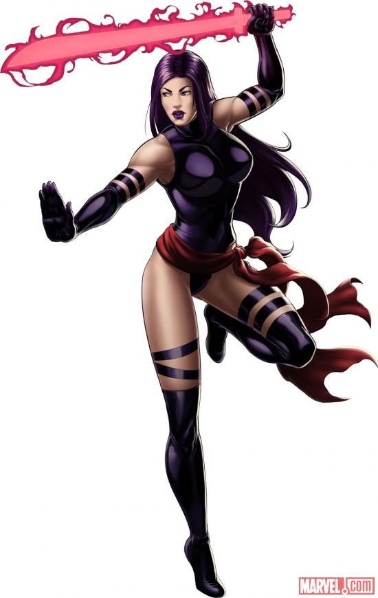 Psylocke from Marvel: Avengers Alliance