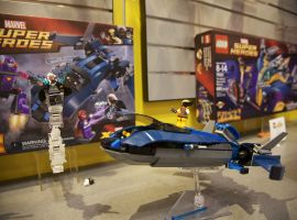 X-Men vs. The Sentinel LEGO set