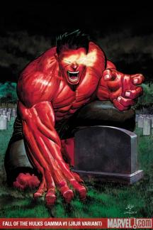 Fall of the Hulks Gamma (2009) #1 (JRJR VARIANT)