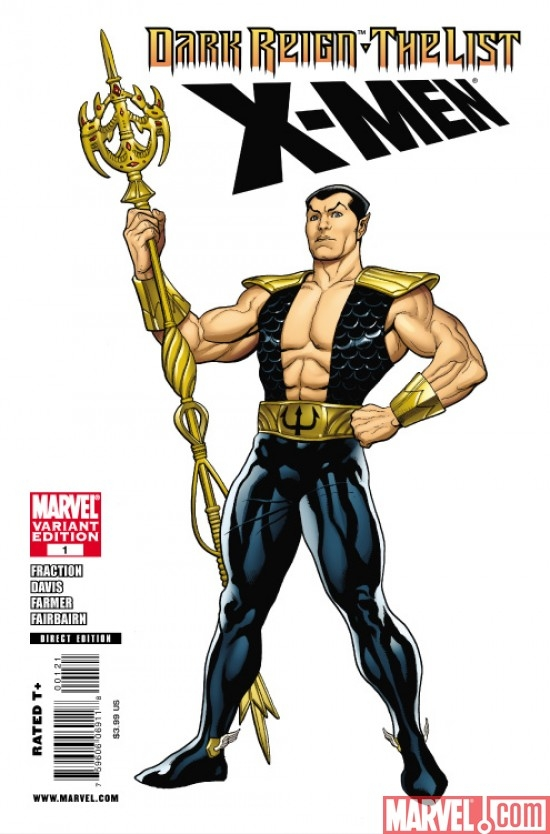 DARK REIGN: THE LIST - X-MEN Hero Variant cover by Frank Cho
