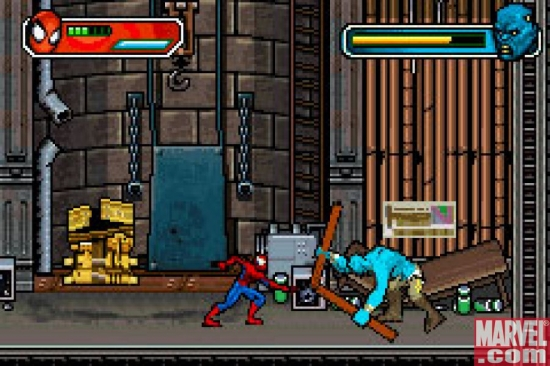 Spider-Man vs. Demo-Goblin, GBA
