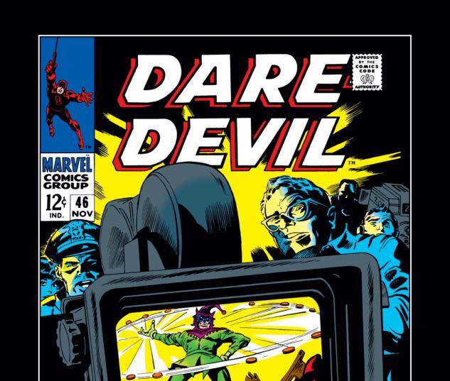 Daredevil (1963) #46 Cover