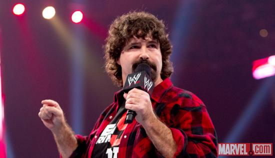 Mick Foley (photo courtesy of WWE)