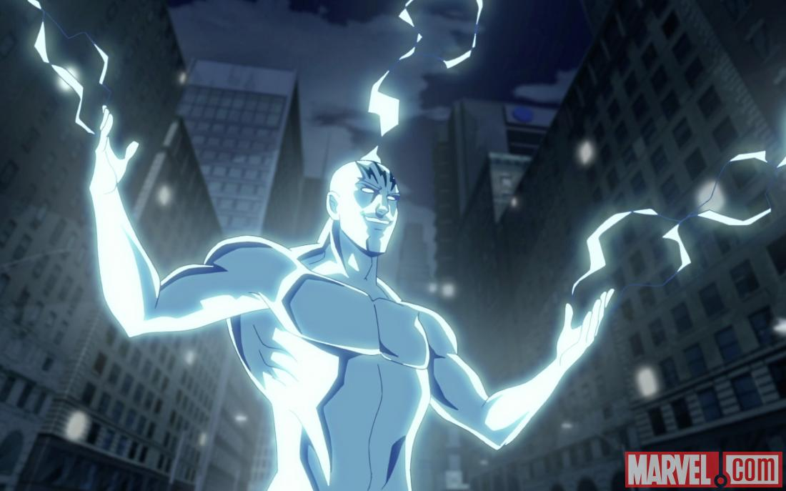 Electro makes his debut in the season premiere of Ultimate Spider-Man