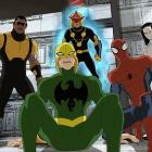 Power Man, Iron Fist, Nova, Spider-Man and White Tiger in Marvel's Ultimate Spider-Man