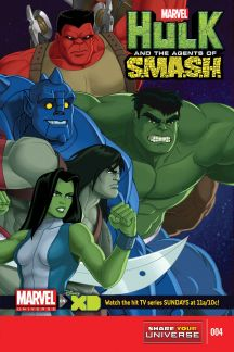Marvel Universe Hulk: Agents of S.M.A.S.H. #4
