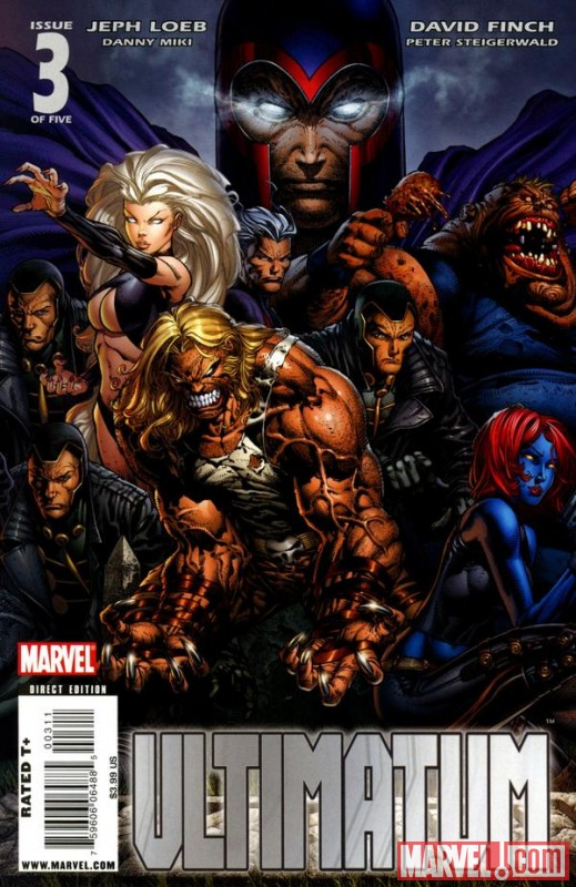 Image Featuring Sabretooth (Ultimate), Mystique (Ultimate), Blob (Ultimate), Magneto (Ultimate)