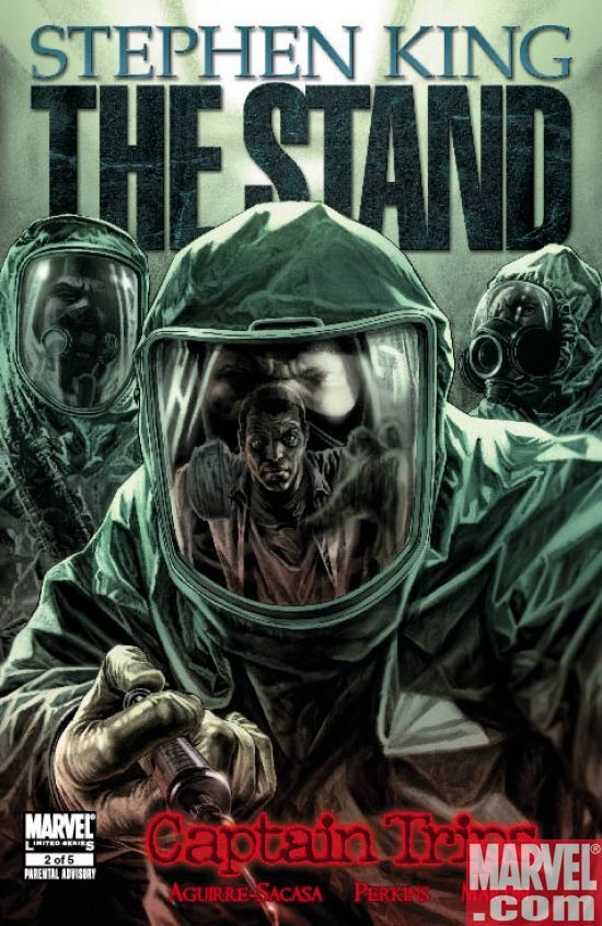 THE STAND: CAPTAIN TRIPS #2 Cover