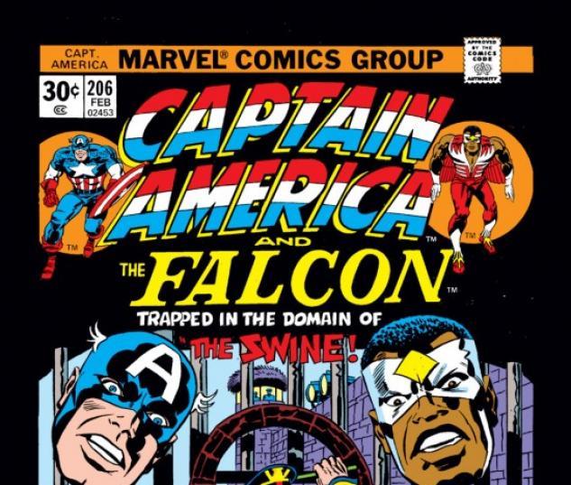 CAPTAIN AMERICA (2009) #206 COVER
