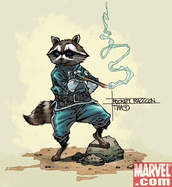 Rocket Raccoon by Timothy Green III