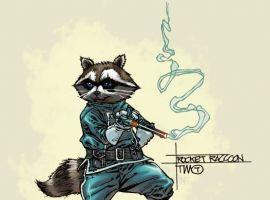Rocket Raccoon by Timothy Green III