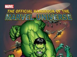 OFFICIAL HANDBOOK OF THE MARVEL UNIVERSE (2004) COVER