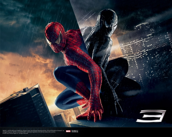 Spider-Man 3 Movie: Back to Back Spider-Men #1