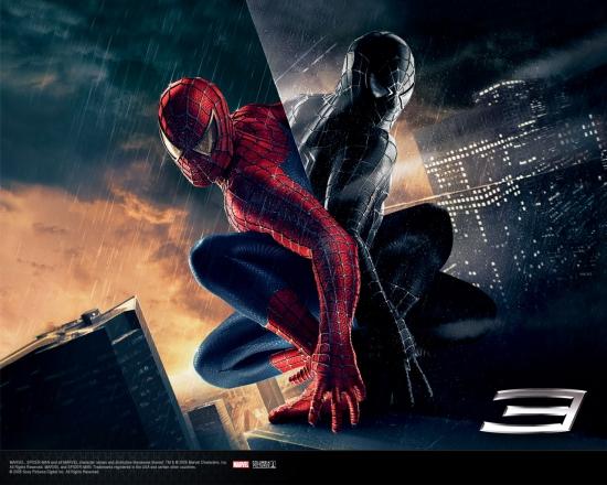 Spider-Man 3 Movie: Back to Back Spider-Men #1