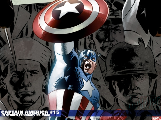 Captain America (2002) #15 Wallpaper