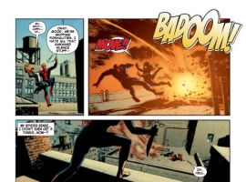 AMAZING SPIDER-MAN #634 preview art by Michael Lark and Stefano Gaudiano