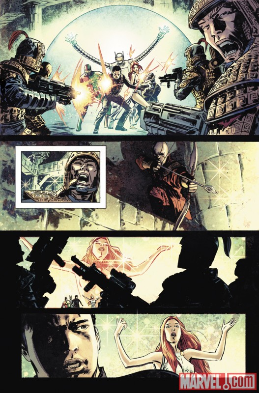 ATLAS #3 preview art by Gabriel Hardman 8