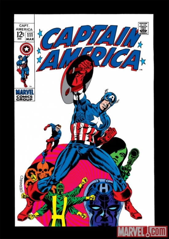 Image Featuring Captain America, Hydra, Rick Jones