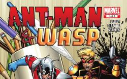 ANT-MAN & THE WASP #1 cover by Salvador Espin