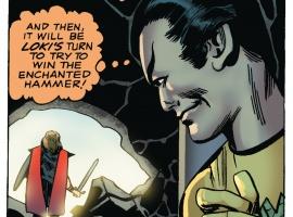 Loki plots against Thor
