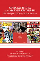 Avengers, Thor & Captain America: Official Index to the Marvel Universe Marvel Universe #14