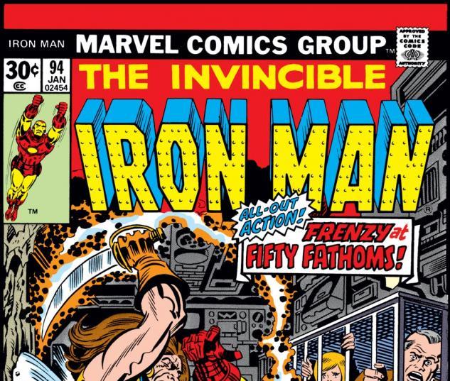 Iron Man (1968) #94 Cover