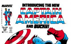 Captain America (1968) #334 Cover