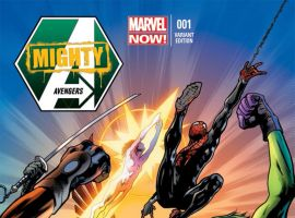 Mighty Avengers (2013) #1 variant cover by Bryan Hitch