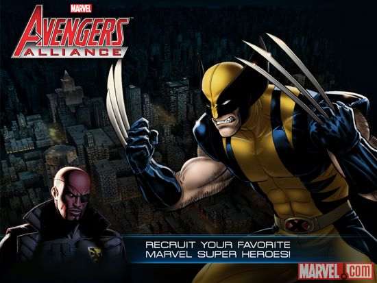 Recruit your favorite heroes in Marvel: Avengers Alliance, now available on iOS devices