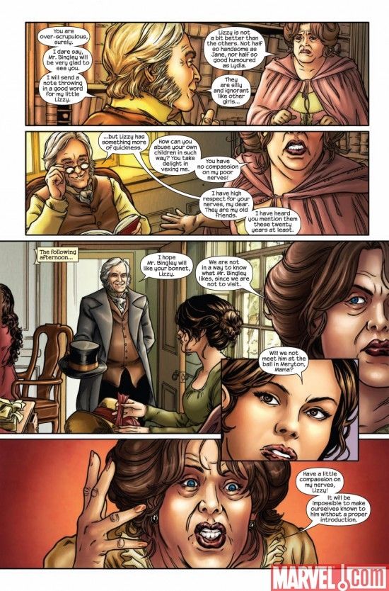 PRIDE & PREJUDICE #1 preview page 4