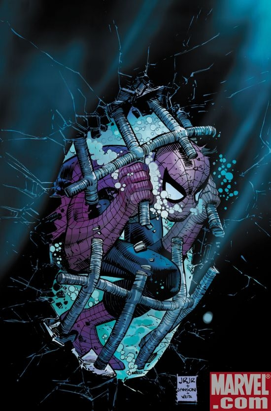 AMAZING SPIDER-MAN #587 cover by John Romita Jr.