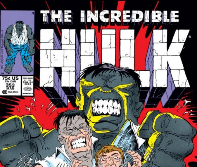 INCREDIBLE HULK #353 COVER
