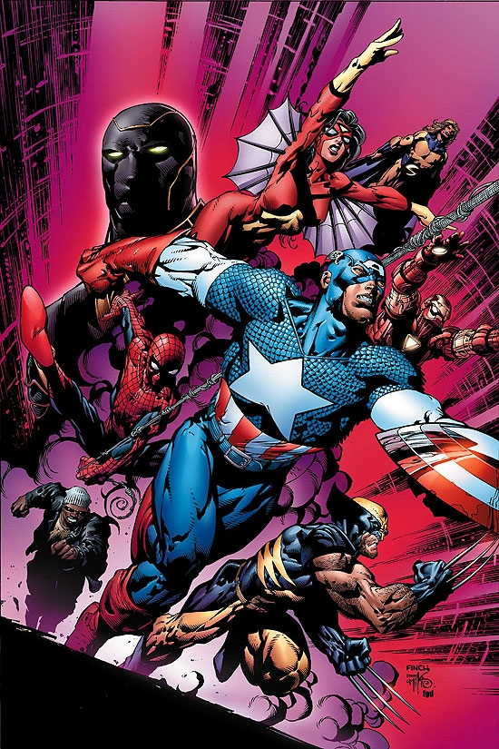 NEW AVENGERS (2007) #12 COVER
