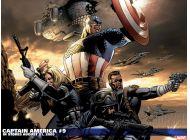 Captain America (1996) #9 Wallpaper