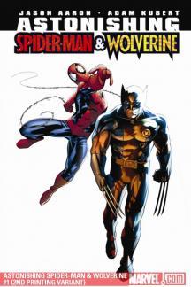 Astonishing Spider-Man/Wolverine (2010) #1 (2ND PRINTING VARIANT)
