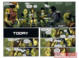 ULTIMATE COMICS MYSTERY #4 preview page by Rafa Sandoval
