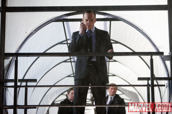 Clark Gregg stars as S.H.I.E.L.D. Agent Phil Coulson in Thor