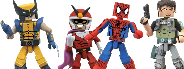 New Marvel vs. Capcom 3 Minimates Series 2