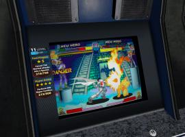 Screenshot of Ryu vs. Jin in Marvel vs. Capcom Origins