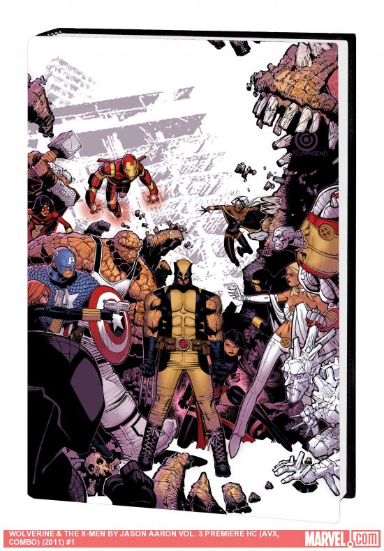 WOLVERINE &amp; THE X-MEN BY JASON AARON VOL. 3 PREMIERE HC (AVX, COMBO)