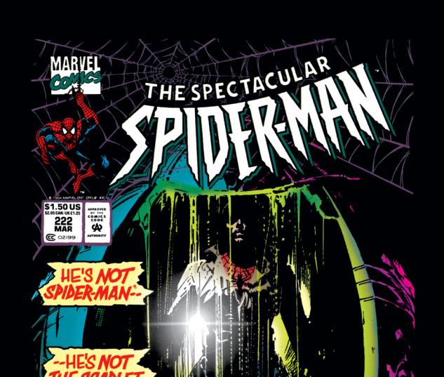 Peter Parker, the Spectacular Spider-Man (1976) #222 Cover