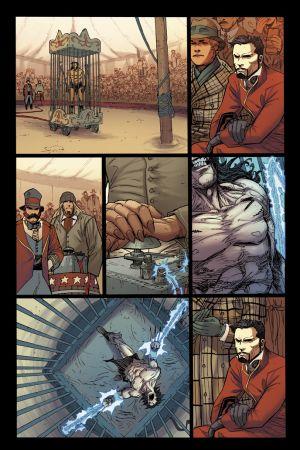 Origin II #3 preview art by Adam Kubert