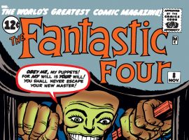 Fantastic Four (1961) #8 Cover