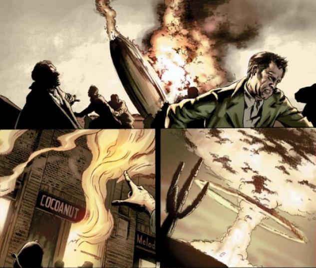 THE TORCH #1 Interior Art