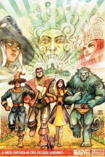 X-Men Forever #4  (30S DECADE VARIANT)