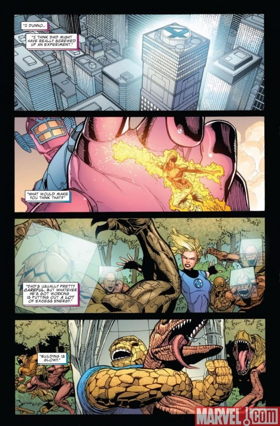 DARK REIGN: FANTASTIC FOUR #2 preview page 6