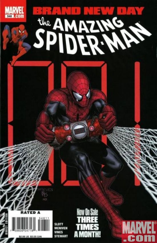 AMAZING SPIDER-MAN (1999) #548