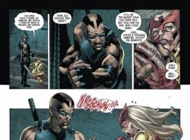 CAPTAIN BRITAIN AND MI13 #8, page 6